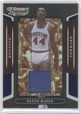 2008 Donruss Americana Sports Legends - [Base] - Mirror Blue Materials [Memorabilia] #22 - Elvin Hayes /250