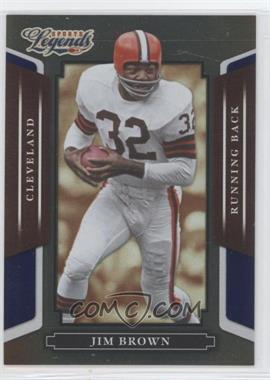2008 Donruss Americana Sports Legends - [Base] - Mirror Blue #2 - Jim Brown /100