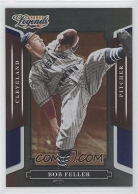 2008 Donruss Americana Sports Legends - [Base] - Mirror Blue #65 - Bob Feller /100