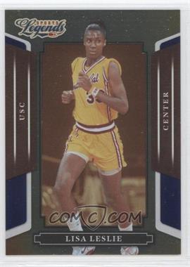 2008 Donruss Americana Sports Legends - [Base] - Mirror Blue #76 - Lisa Leslie /100