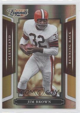 2008 Donruss Americana Sports Legends - [Base] - Mirror Gold #2 - Jim Brown /25