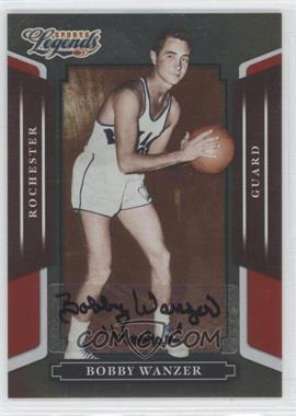 2008 Donruss Americana Sports Legends - [Base] - Mirror Red Signatures [Autographed] #39 - Bobby Wanzer /658
