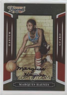 2008 Donruss Americana Sports Legends - [Base] - Mirror Red Signatures [Autographed] #42 - Marques Haynes /337
