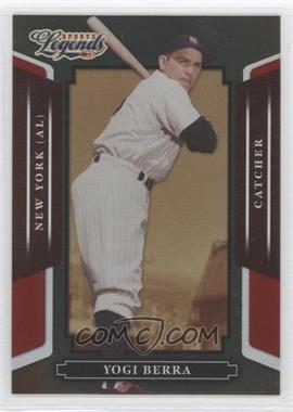 2008 Donruss Americana Sports Legends - [Base] - Mirror Red #60 - Yogi Berra /250