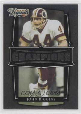 2008 Donruss Americana Sports Legends - Champions #C-5 - John Riggins /1000