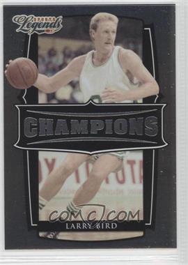 2008 Donruss Americana Sports Legends - Champions #C-7 - Larry Bird /1000