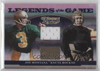 Joe Montana, Knute Rockne /100