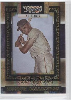 2008 Donruss Americana Sports Legends - Museum Collection - Gold #MC-17 - Willie Mays /100