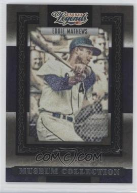 2008 Donruss Americana Sports Legends - Museum Collection #MC-22 - Eddie Mathews /1000
