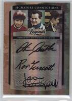 Jean Cruguet, Steve Cauthen, Ron Turcotte #/250