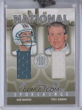 2008 Sportkings National Convention - [Base] - Silver #SKN-36 - Troy Aikman /9
