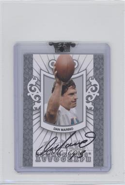 2008 Sportkings Series B - Autographs - Silver #A-DMA2 - Dan Marino /40