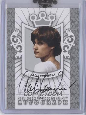 2008 Sportkings Series B - Autographs - Silver #A-NC - Nadia Comaneci /90