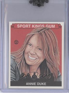 2008 Sportkings Series B - [Base] - Mini #107 - Annie Duke