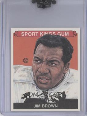 2008 Sportkings Series B - [Base] - Mini #50 - Jim Brown