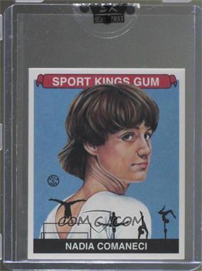 2008 Sportkings Series B - [Base] - Mini #61 - Nadia Comaneci [Uncirculated]