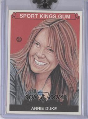 2008 Sportkings Series B - [Base] #107 - Annie Duke