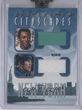 2008 Sportkings Series B - Cityscapes - Silver #CSD-08 - Pele, Mark Messier