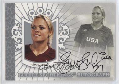 2008 Sportkings Series B - Future Sportkings Autograph - Silver [Autographed] #FSA-JF - Jennie Finch