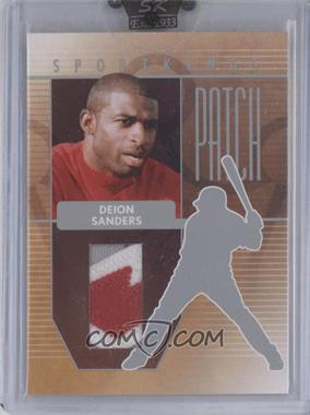 2008 Sportkings Series B - Patch - Silver #P-13 - Deion Sanders