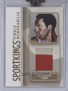 2008 Sportkings Series B - Single Memorabilia - Gold #SM-29 - Meadowlark Lemon /10