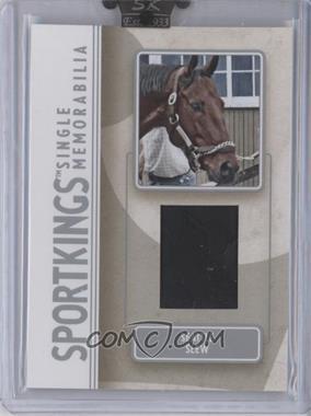 2008 Sportkings Series B - Single Memorabilia - Silver #SM-38 - Seattle Slew