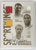 Hakeem Olajuwon, Magic Johnson, Larry Bird /10