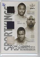 Joe Frazier, Roy Jones Jr., Larry Holmes /6