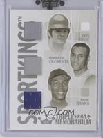 Pete Rose, Roberto Clemente, Ernie Banks