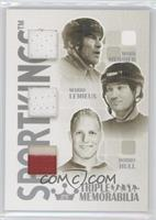 Mark Messier, Mario Lemieux, Bobby Hull