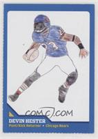 Drawing Contest Winners - Devin Hester [EX to NM]