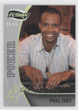 2009 Press Pass Fusion - [Base] - Onyx #81 - Phil Ivey /99