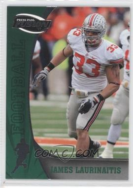2009 Press Pass Fusion - [Base] #46 - James Laurinaitis