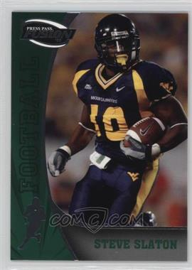2009 Press Pass Fusion - [Base] #54 - Steve Slaton
