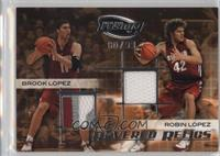 Bret Lockett, Brook Lopez, Robin Lopez /99