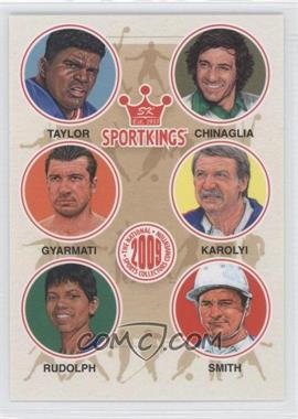 2009 Sportkings Series C - [???] #VIP-06 - Lawrence Taylor, Giorgio Chinaglia, Dezso Gyarmati, Bela Karolyi, Wilma Rudolph, Cecil Smith