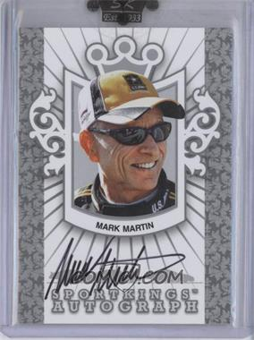 2009 Sportkings Series C - Autographs - Silver #A-MMA1 - Mark Martin