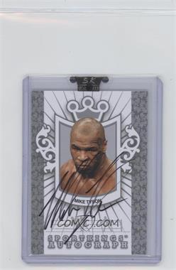 2009 Sportkings Series C - Autographs - Silver #A-MT2 - Mike Tyson