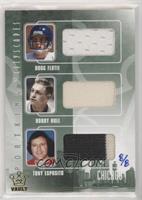 Doug Flutie, Bobby Hull, Tony Esposito #/8