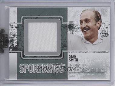 2009 Sportkings Series C - Single Memorabilia - Silver #SM-15 - Stan Smith