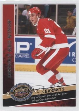 2009 Upper Deck 20th Anniversary Retrospective - [Base] #1039 - Detroit Red Wings