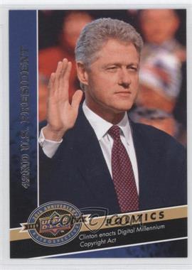 2009 Upper Deck 20th Anniversary Retrospective - [Base] #1099 - Bill Clinton