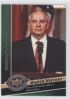 2009 Upper Deck 20th Anniversary Retrospective - [Base] #162 - Mikhail Gorbachev
