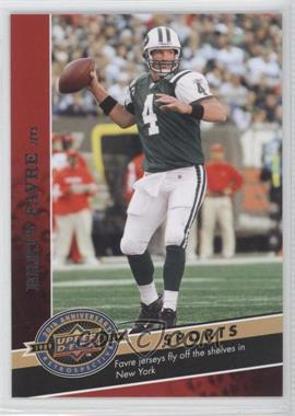 2009 Upper Deck 20th Anniversary Retrospective - [Base] #2462 - Brett Favre