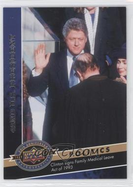 2009 Upper Deck 20th Anniversary Retrospective - [Base] #502 - Bill Clinton