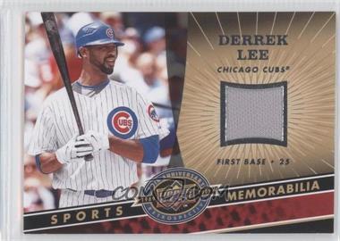 2009 Upper Deck 20th Anniversary Retrospective - Memorabilia #MLB-DL - Derrek Lee
