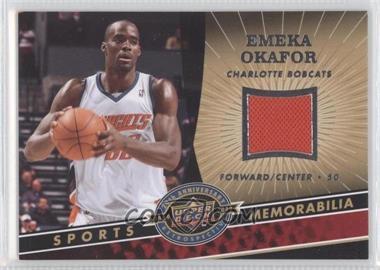 2009 Upper Deck 20th Anniversary Retrospective - Memorabilia #NBA-EO - Emeka Okafor