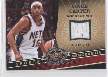 2009 Upper Deck 20th Anniversary Retrospective - Memorabilia #NBA-VC - Vince Carter