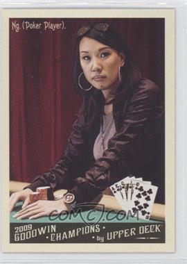 2009 Upper Deck Goodwin Champions - [Base] #105 - Evelyn Ng