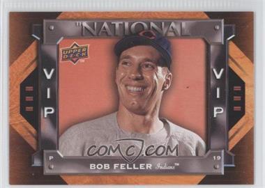 2009 Upper Deck National Convention - VIP #VIP-1 - Bob Feller